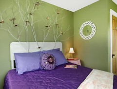 diy-enchanted-forest-headboard-pretty-girls-bedroom (dearlinks) Tags: diy lavish beautiful wonderful stunning gorgeous amazing charming creative home decor trends designs improvement projects ideas plans tips inspiration
