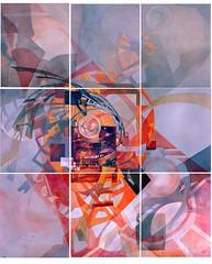 Vortice in espansione (Hier Meyer) Tags: pittura astratto geometrico arte contemporanea