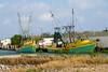 Shrimpers (Lindell Dillon) Tags: shrimpboats texas portisabel lindelldillon harbor trawler