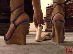 Picking up the Corpse (Claudio (Tania Zandalz - wife)) Tags: high heels shoes mature sexy latina kapikua1 female woman wife amateur mexico feet strappy wedges platform tacones altos zapatos madura femenina mujer esposa pies tiras cuñas plataforma sandals sandalias