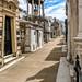 Recoleta cemetery: mausoleum perspective