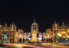 Chhatrapati Shivaji Terminus railway station (Never House) Tags: chhatrapati shivaji train station terminal terminus raulwong india mumbai bombay travel