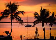 Honeymoon Sunset (James W Atkins) Tags: sunset sun summer keylargo marriottkeylargo keys thekeys florida largo bay sea sunshine sunsets