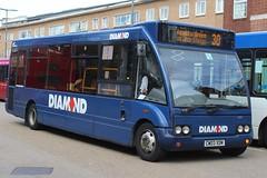 Diamond Optare Solo 20008 (CW03 XDM) (Redditch) (john-s-91) Tags: diamond optaresolo 20008 cw03xdm solihull route30