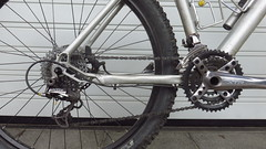 Antriebswechsel (twinni) Tags: mw1504 16042017 bike mtb bergziege winterbike winterradl shimano xtr fcm960 rdm960 antrieb wechsel verschleis verschleiss kette längung ta specialites c116 france frankreich
