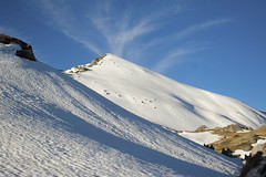 Volcanic eruption of clouds ?!?!? (Mind_space) Tags: mountains himalayas kedarkantha summit climb trek blue clouds beautiful nature uttarakhand trekking india