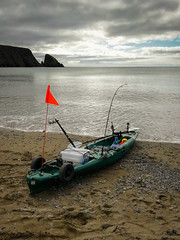 Kayak fishing in waterford-101458 (Denis O'Donovan) Tags: denlophotography ika irishkayakangling kayak kayakfishing mackerel sea waterford wilderness135 countywaterford ireland