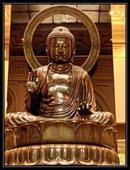 Peace on Earth, give peace a chance (thierrymasson94) Tags: france statue muséecernuschi cernuschi bouddha japon bronze paixsurterre givepeaceachance peace paix