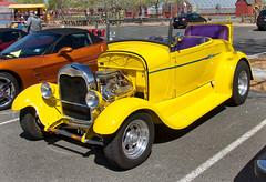 Yellow Roadster (mmorriso2002) Tags: roadster car yellow johnsonscornerfarm carshow medford newjersey