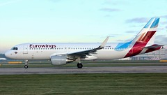 D-AEWD (AnDyMHoLdEn) Tags: eurowings a320 egcc airport manchester manchesterairport 23l