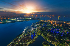 Landscape of Singapore harbor (anekphoto) Tags: singapore bay city skyline marina night garden building landscape view asia landmark gardens architecture modern cityscape harbor sky sands hotel business urban tower aerial district light travel supertree park skyscraper tourist water outdoor grove tourism structure scene famous dam boat habour financial museum beautiful design forest blue twilight roof top sunrise morning sun