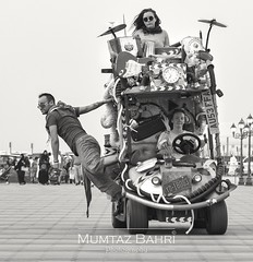 Rocking the Road (mumtazbahri) Tags: dubai photography sharjah uae emirates rock music globalvillage outdoor crazy caravan street style streetphotography unique