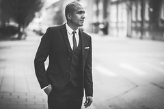 The Buisness Man (PhotographerJockeFransson) Tags: blacknwhitephotography blacknwhite bwphotos bwphotography bwphoto bwn bw blackandwhite blackandwhitephotography 85mm portrait monochrome