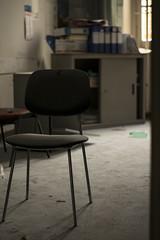 DSC_7376 (Megabarney84) Tags: nikon d3300 forlanini hospital ospedale abbandonato abandoned italy italia roma rome lazio chair sedia laboratory