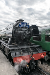 Flying Scotsman on the Bluebell Railway (Alex Woodgate) Tags: flyingscotsman historicbritain railway heritage steamtrain bluebellrailway sheffieldpark nostalgia