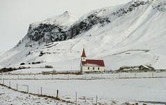 Icelandic Odyssey (Simon Caunt) Tags: snowy wintery wintry ice snow iceland iceandsnow icelandicodyssey afsnikkor2470mmf28 d800 nikond800 nikoncameras reyniskirkja church