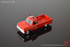 No. 825 | RACING CHAMPIONS | 1965 Ford F-100 Pickup Taylor Michigan Fire Dept (www.diecastfirecollection.com) Tags: diecast metal model toy emergency fire feuerwehr bomberos pompiers fuoco department fd 164 collection racingchampions 1965 ford f100 pickup taylor michigan dept