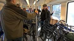 Vol in trein (transportfiets.net) Tags: transportfiets maarn 2017