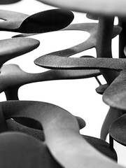 Abstract of Abstracts (Dell's Pics) Tags: tony cragg yorkshire sculpture park abstract art olympus omd em5 shapes monotone blackandwhite bandw