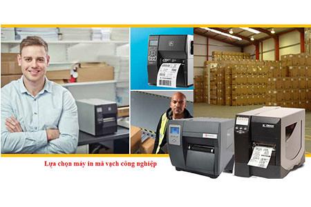 máy in tem mã vạch phù hợp với mô hình công nghiệp nhỏ, nhà xưởng, kho vận