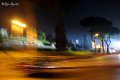 Roma. Rrrun. Running view. Via di San Gregorio (R come Rit@) Tags: italia italy roma rome ritarestifo photography streetphotography running runningview icm movimento corsa run movement moving view views veduta vedute landscape landscapes panorama panorami viadisangregorio