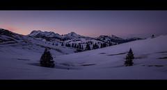 Velika / The Big One (PicsbyGrega) Tags: landscape slovenia slovenija velikaplanina winter zima večer evening snow sneg kamnikalps kamnik–savinjaalps kamniškealpe kamniškosavinjskealpe alps alpe sundown canoneos60d sigma1750mmf28exdcos derezenanogah uppercarniola gorenjska mountains planine gore zimskatišina wintercalmness mountain sigma canon