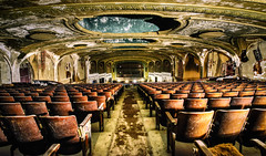 Long Ago, at the Late Night, Double Feature, Picture Show (Paco_X) Tags: varietytheater ruins old abandoned balcony cleveland backrow chriscamino