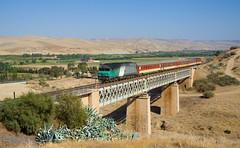 Nador - Fès (david_gubler) Tags: oncf df115 cc72000 fret fès steelbridge nezcassé