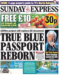 £500 million. We could save lives, educate children, feed the hungry, support the needy.... But no the government thinks the money is better spent changing the colour of passports. The blood of the people in on your hands Mrs May.