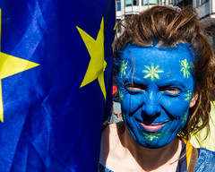20176494 (sinister pictures) Tags: 2017 sinisterpictures gb greatbritain london uk unitedkingdom canon uniteforeurope nationalmarch parliament protest demonstration placards banners brexit article50 eu europeanunion euflag unionflag gbr hydeparkcorner