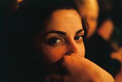 (Nothing is surrender) Tags: portrait girl woman bar stare sight look serbia srbija nikonf90 nikon f90 novisad