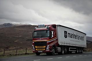 Ferguson Transport & Shipping Invergordon Volvo FH KM15 ZFC