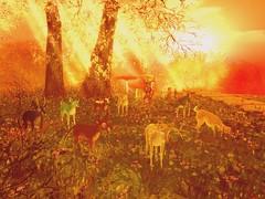 Hello Deer (Ylva Korhonen) Tags: second life secondlife sl fantastyfaire ff fantasy faire fantasyfaire plastik deer gatcha gacha
