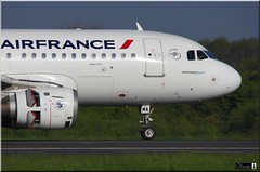 Airbus A319-113, Air France,  F-GPMA (OlivierBo35) Tags: nantes nte spotting airbus a319 airfrance