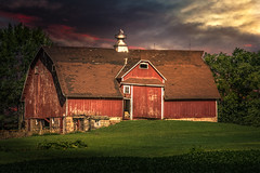 A New Role (henryhintermeister) Tags: barns minnesota oldbarns clouds farming countryliving country sunsets storms sunrises pastures nostalgia skies outdoors seasons field hay silos dairybarns building architecture outdoor winter serene grass landscape plant cloudsstormssunsetssunrises