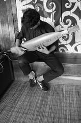 Traditional guitar player (Amalshaleh1966) Tags: bw gitar iban