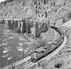 CP, Spences Bridge, British Columbia, 1978 (railphotoart) Tags: 3015 3008 stillimage spencesbridge britishcolumbia canada