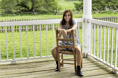 Kady 0020 (Scott Sanford) Tags: 6d canon ef2470f28l eos outdoor texas topazlabs beautiful graduation portrait seniorportraits sisters twins teenage girls highschool women people spring park 2017 senior