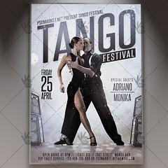 Tango Festival - Premium Flyer PSD Template (psdmarket) Tags: argentinetango ballroomdancing canyengue chacha couple dance flamenco habanera latindance latino maxixe milonga salsa samba tango