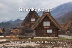 Shirakawa-go (satochappy) Tags: video slideshow shirakawago gifu japan gasshozukuri premierepro 白川郷