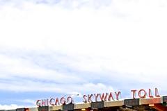 Skyway Toll Plaza (dangaken) Tags: skyway chicagoskyway transit highway tollroad road travel plaza toll chicago chitown illinois il windycity chicagoil cityofbroadshoulders bluesky weather clouds dgaken dangaken photobydangaken