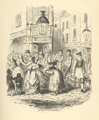 Seven Dials (Rescued by Rover) Tags: george cruikshank charles dickens sketches boz london chapman hall victorian dress costume seven 7 dials fight women pub tavern covent garden