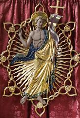 Easter Sunday V - The Risen Lord Jesus (Lawrence OP) Tags: biblical resurrection easter comper risen lord jesuschrist stmary burystedmunds