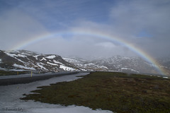 Paysages Islandais (françoisjoly85) Tags: islande ciel sky lande neige snow arcenciel rainbow