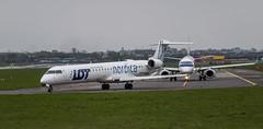 ES ACH - Canadair CRJ-900 - LOT Polish Airlines (PawelBabik) Tags: pll lot epwa crj 900 nordica
