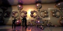 Kleinian Gallery (eXalk) Tags: fantasy fractal sphere spiral fragmentarium art abstract design digital dream render reflection retusche photoshop