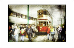 TRAM MUSEUM (DEREK HYAMSON . OVER 5 AND A HALF MILLION) Tags: hdr candids impression trams museum birkenhead