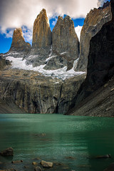 king's crown (PhotographyBum) Tags: chile patagonia tdp torres towers outdoor trek trekking landscape geology rocks glacier mountains hike hiking beauty beautiful scenery canon t2i wide 24mm prime viewpoint