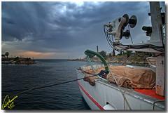 Storm over the canal ... HDR (Emil9497 Photography & Art) Tags: emilathanasiou emil9497photographyart hdr greece hellas nikond90 d90 chalikidiki northgreece potidea potideascanal canal