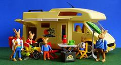 So, Urlaub ... (Harald52) Tags: hasen playmobil figuren spass